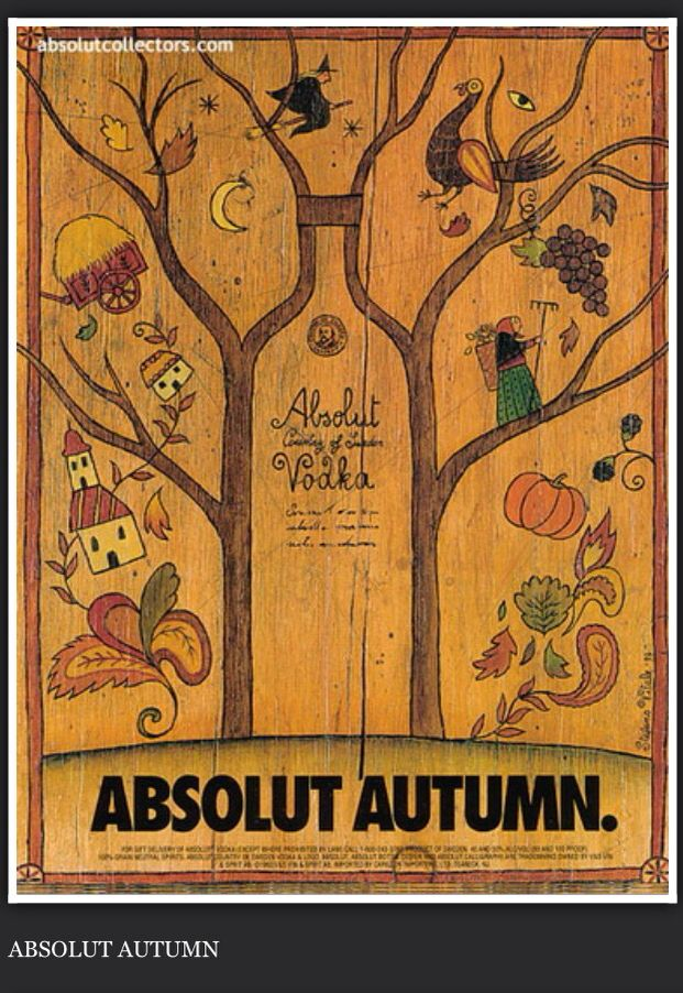 Absolut - Seasonal content for autumn